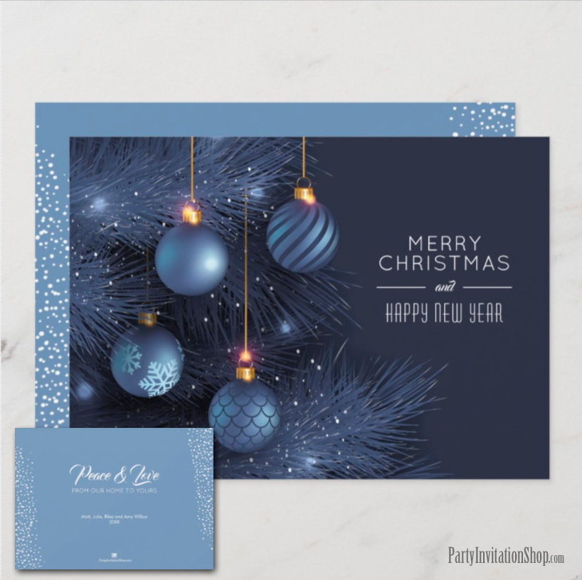 Christmas Holiday Greeting Cards