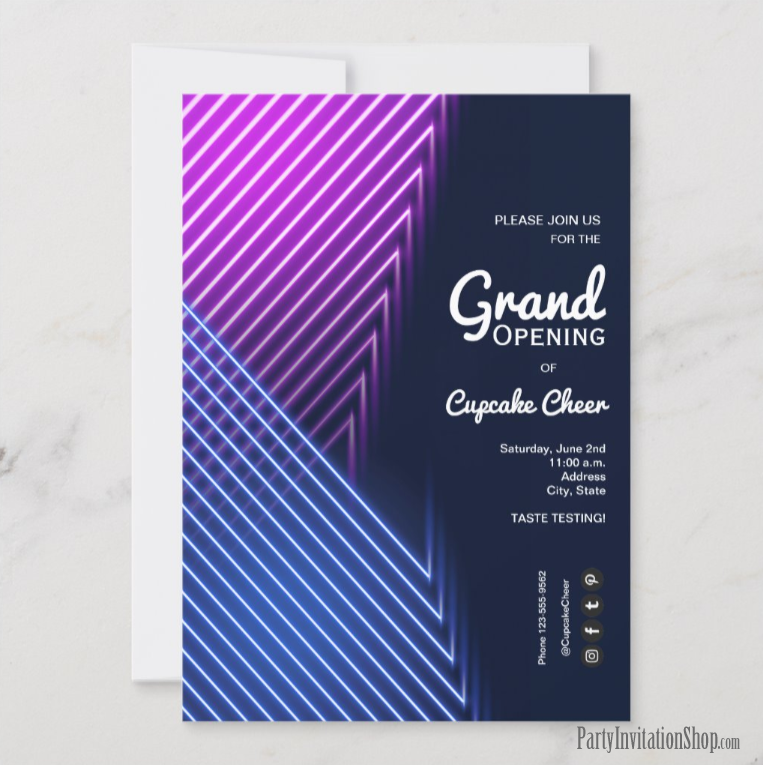 Store Grand Opening invitations and Announcements